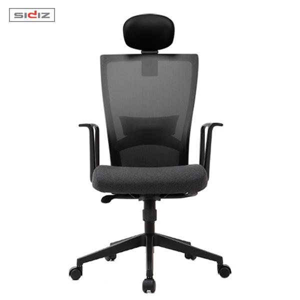 [시디즈] 투톤 메쉬 의자 NEW T50 LIGHT 블랙쉘(요추지지대 포함)  (주문생산-주문후최대 D+10일 배송)